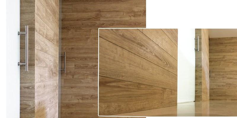 Parquet a parete - Listoni legno per pareti interne ...