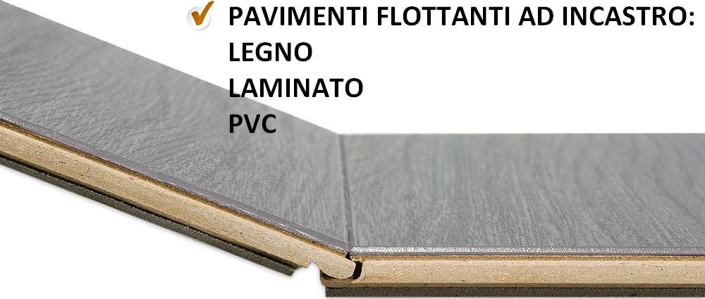 Pavimenti flottanti clic - Piastrelle pvc ad incastro ...
