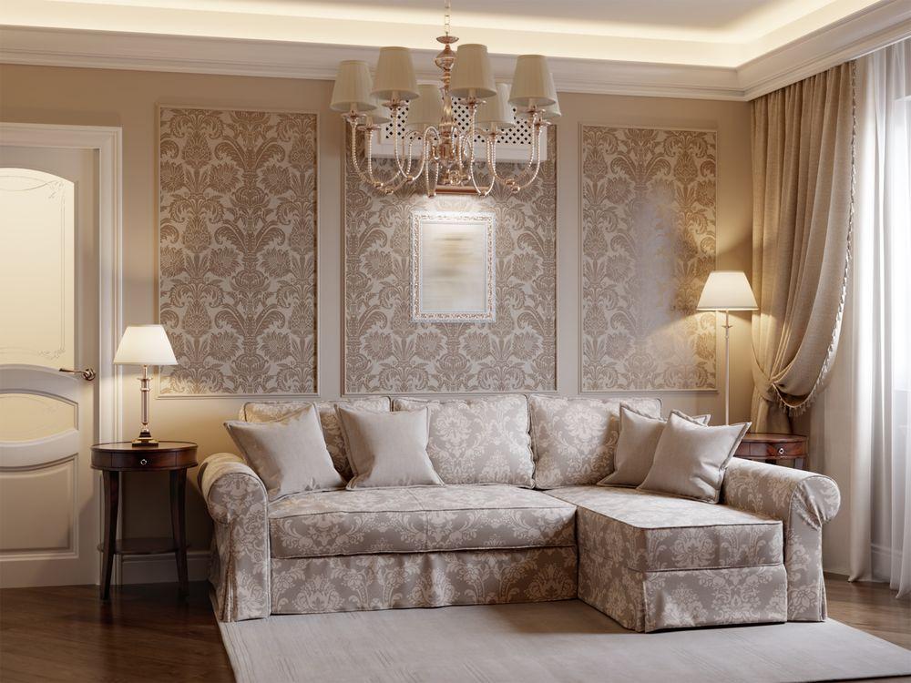 Carta da parati ambienti armoniosi e raffinati for Carta da parati stile provenzale