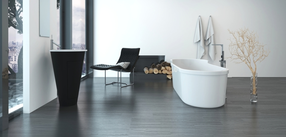Free pavimento in pvc lvt per uso commerciale with for Piastrelle pvc autoadesive