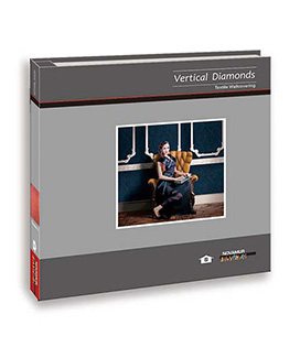 Vertical Diamonds C
