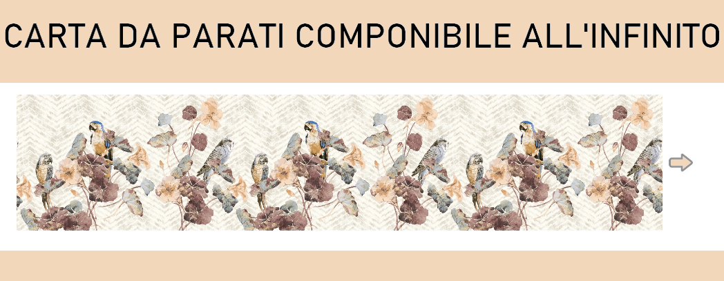 CARTA DA PARATI |  Componibile all'infinito