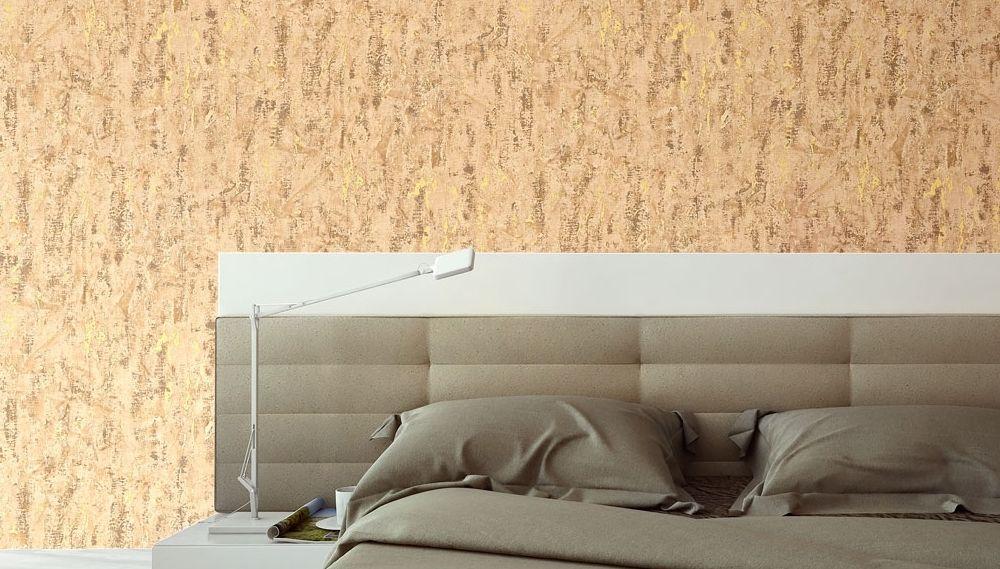 Testata letto 15 idee per arredare la parete - Carta da parati parete letto ...