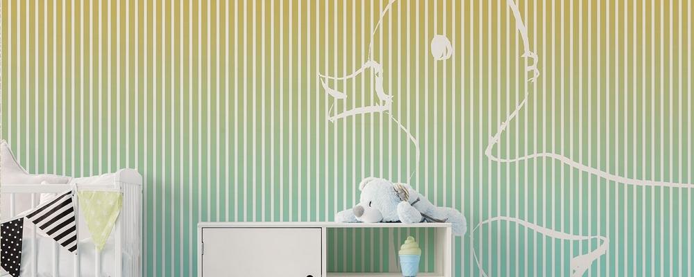 Testata letto 15 idee per arredare la parete for Carte da parati per camerette bambini