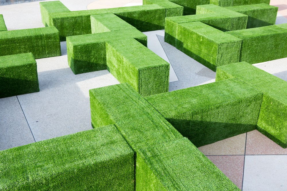 Erba sintetica pavimento sempre verde
