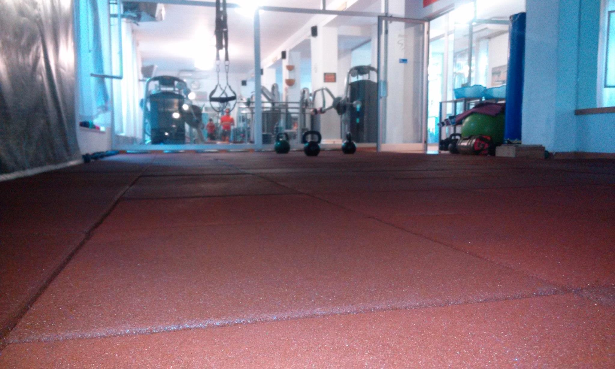 Pavimento crossfit anti shock per palestre