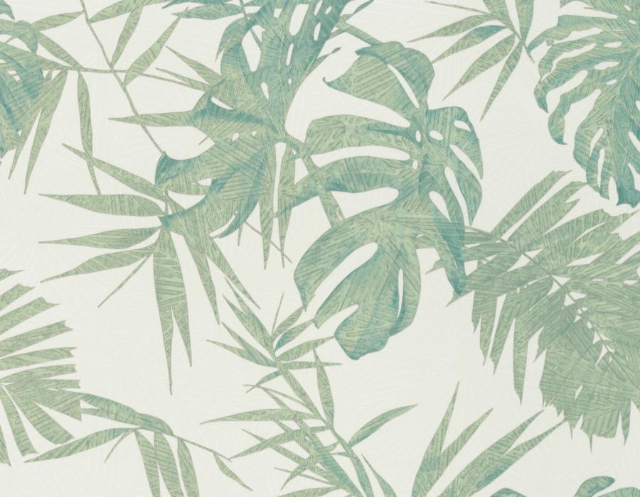 AMB29403 | Carta da parati foglie tropicali - Nanni Giancarlo