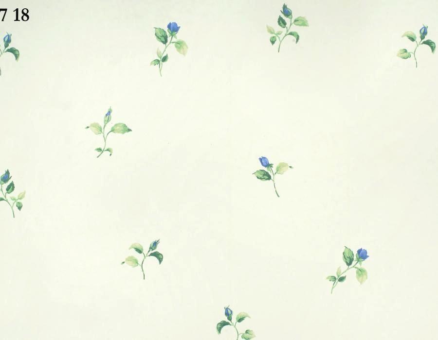 Carta da parati fiori e stile provenzale for Carta da parati vinilica