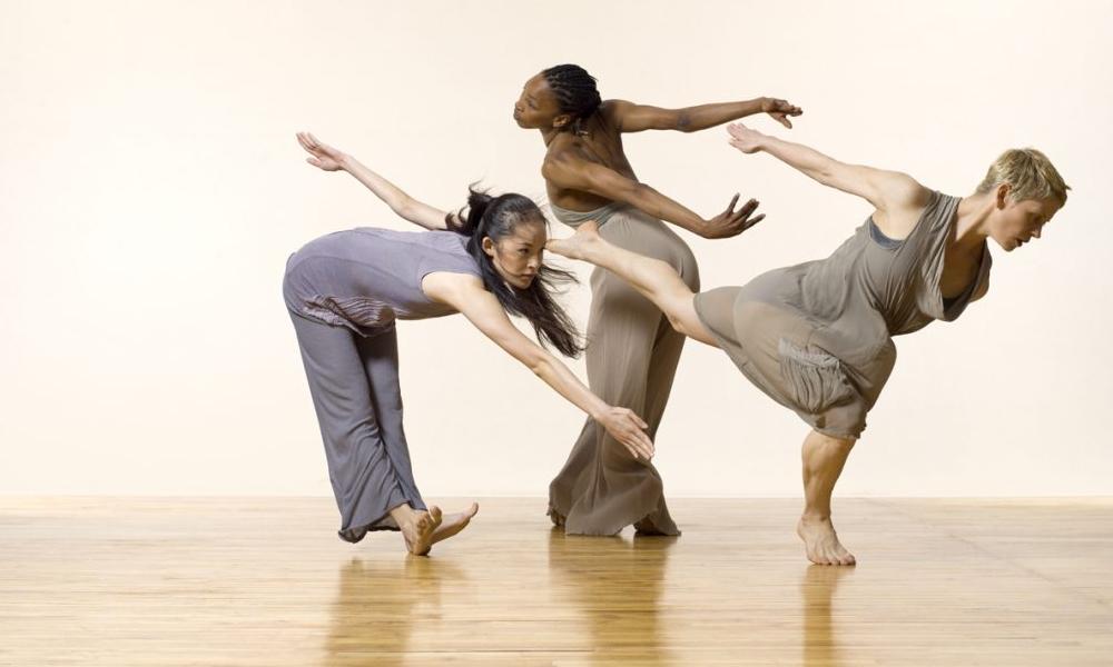 pavimento effetto parquet per danza