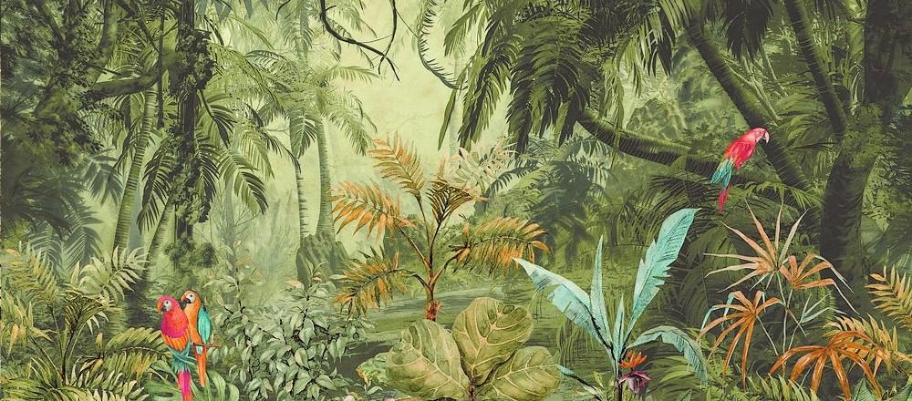 carta da parati esotica tropicale - Nanni Giancarlo