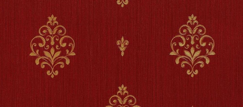 Carta da parati damascata lusso e glamour for Parati classici
