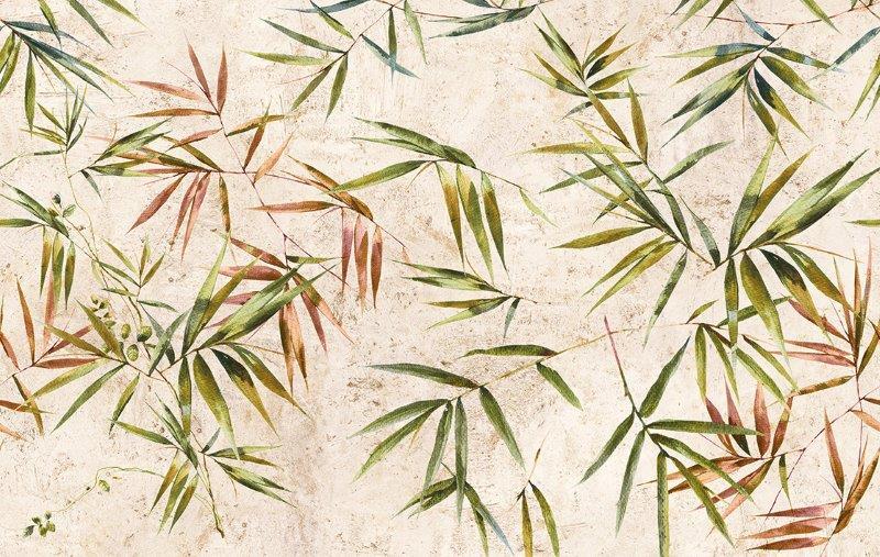 Fiori carta da parati bamboo - Nanni Giancarlo & C.