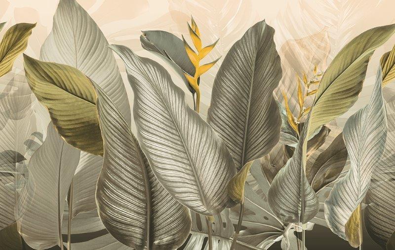 carta da parati natura foglie jungla - Nanni Giancarlo