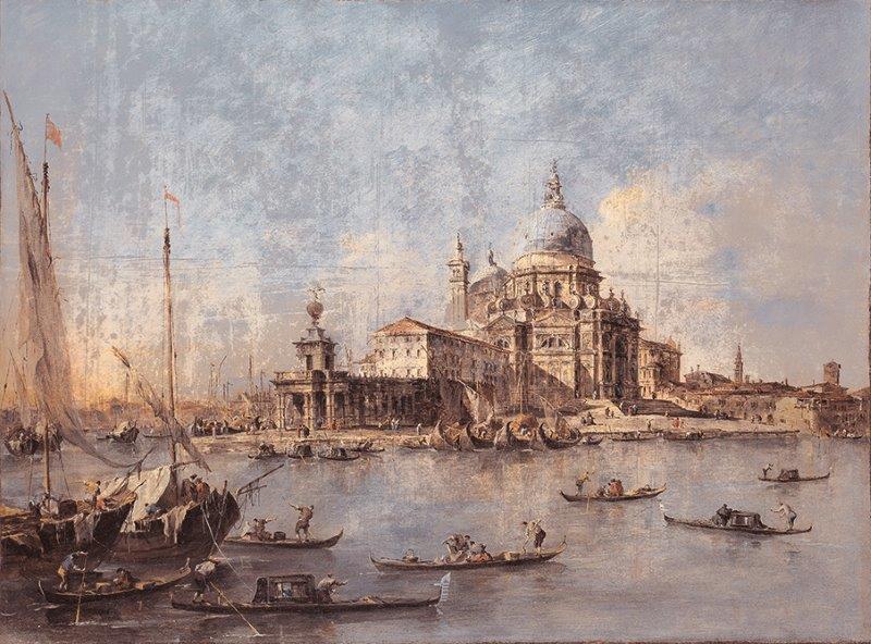 VENEZIA | Carta da parati geografica vintage - Colore 1 - Nanni Giancarlo