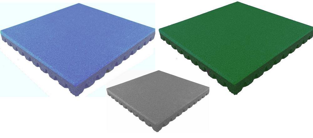 pavimenti antitrauma in mattonelle di gomma - Nanni Giancarlo
