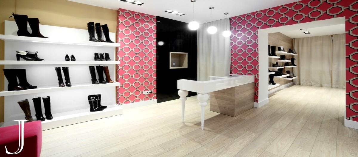 pavimento effetto legno per negozi