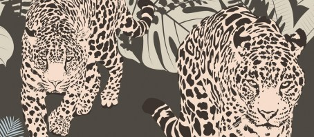 SAVANA LUXURY | Carta da parati animalier