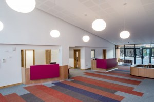 Moquette Tivoli combinate in reception